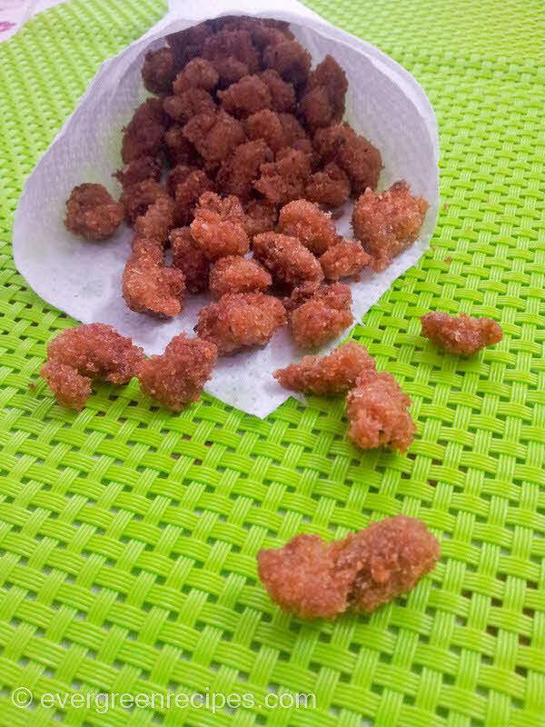 Fried Chicken Cubes | Crunchy Chicken Chunks