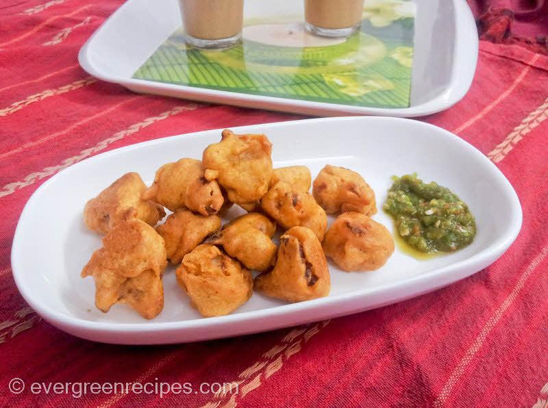 how to make cauliflower pakora