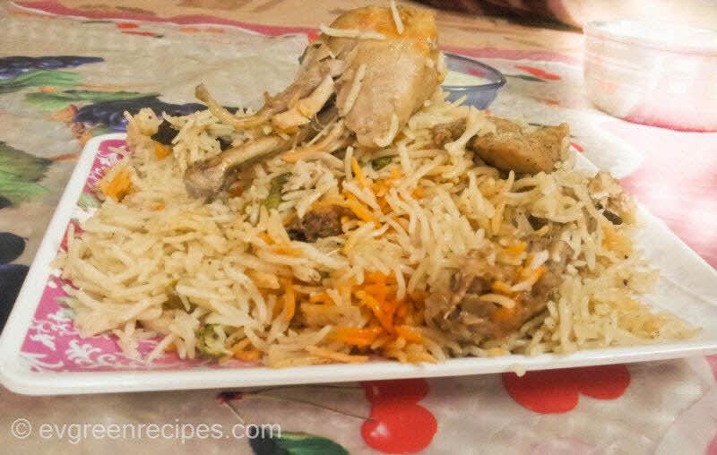 चिकन बिरयानी Potli पकाने की विधि