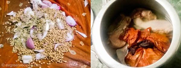 चिकन बिरयानी Potli पकाने की विधि चरण 1