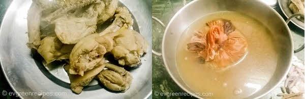 चिकन बिरयानी Potli पकाने की विधि चरण 2