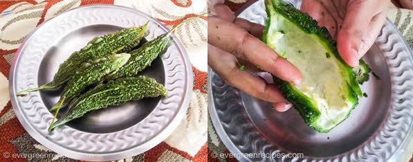 Karela (Bitter Melon) Bhurji Recipe