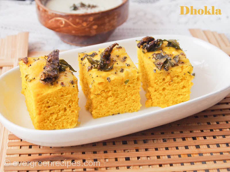 Dhokla recipe with step by step pictures forumfinder Gallery
