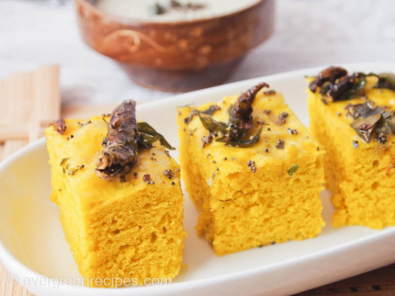 Dhokla recipe with step by step pictures forumfinder Images