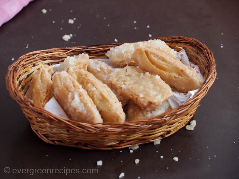 North Indian Sweet Dish Khaja Recipe