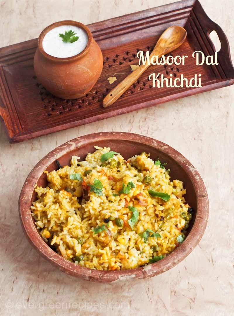 Masoor dal khichdi recipe pink lentils cooked with rice masoor dal khichdi recipe ccuart Choice Image