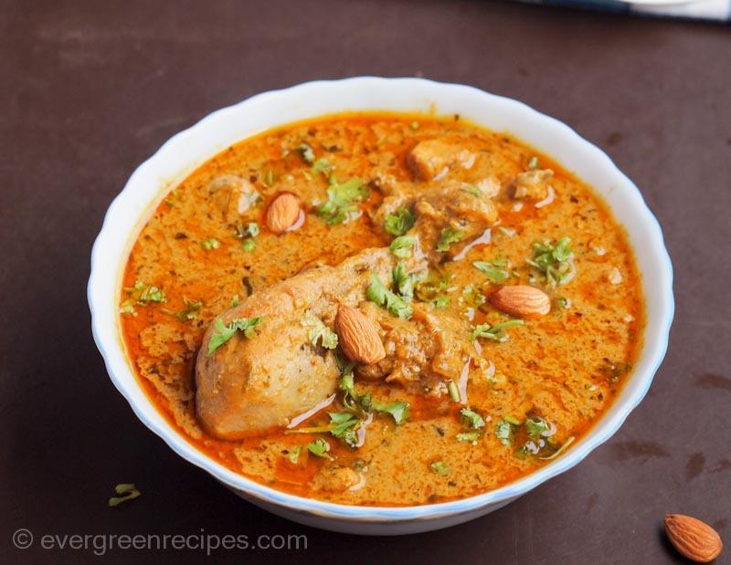 Badami Chicken Korma