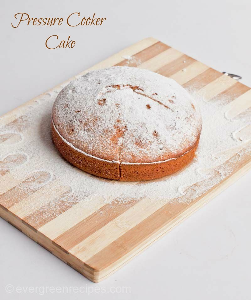 Pressure Cooker Veg Cake Recipe