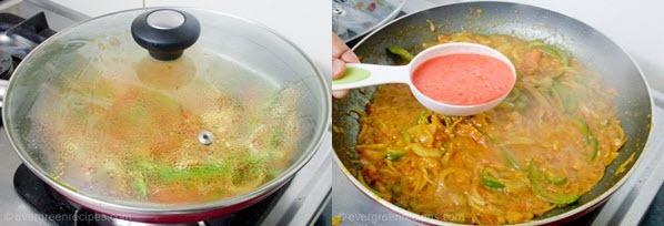 Paneer Lachchedar Recipe Step 6