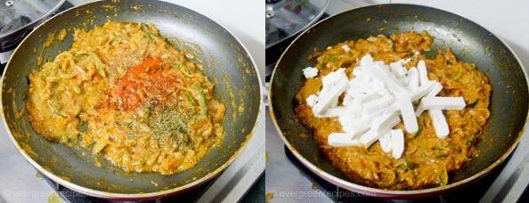 Paneer Lachchedar Recipe Step 8