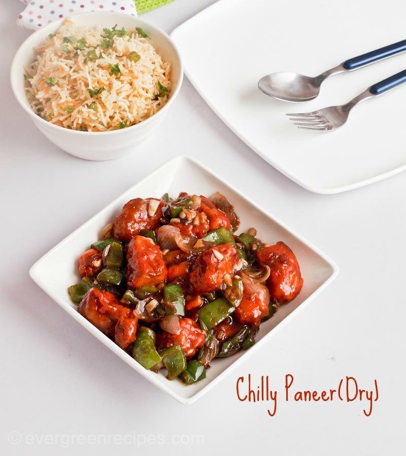 Chilli Paneer (Dry) Recipe| Chilly Paneer Recipe