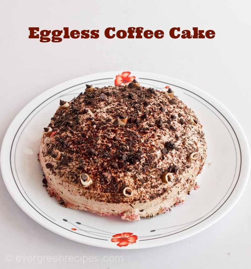 Eggless Buttermilk Coffee Cake