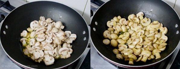 how to make mushroom at home