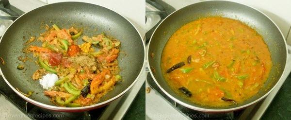 पनीर पकाने की विधि जालफरेजी चरण 5