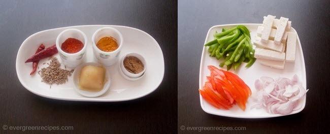 पनीर पकाने की विधि जालफरेजी चरण 1