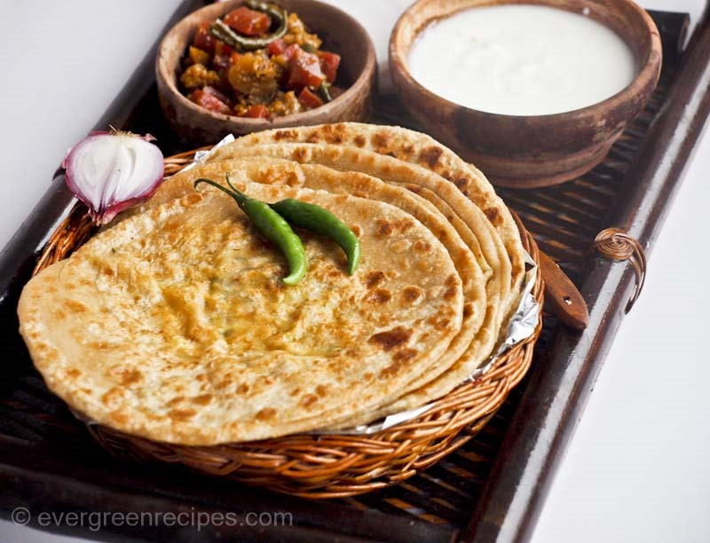 Aloo Gobi Paratha Recipe | How To Make Gobi Paratha