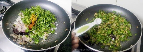 Paneer Methi Bhurji Recipe Step 3
