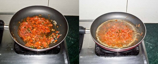 Tomato  Rava Upma Recipe Step 4