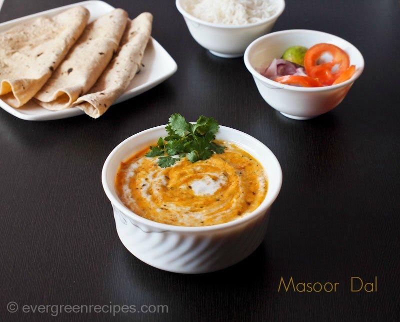 Masoor Dal Recipe - Creamy Masoor Dal